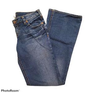Silver jeans Aiko medium wash flare jeans w30 l33
